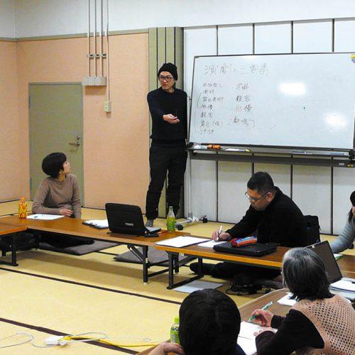 柳沼昭徳戯曲講座リーディング発表会