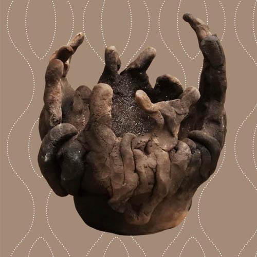 縄文人シリーズ「土器をつくる」